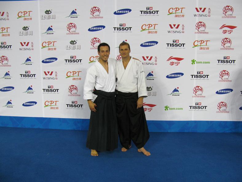 Junto a Marc Bachraty (Sportacord Ch