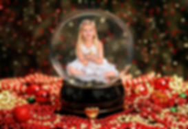 Crystal ball fine ar portrait