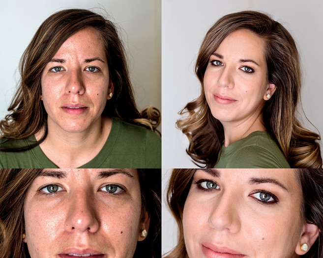 Face retouching. Fire Art Studios Photography.