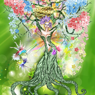 Spring Mother Earth