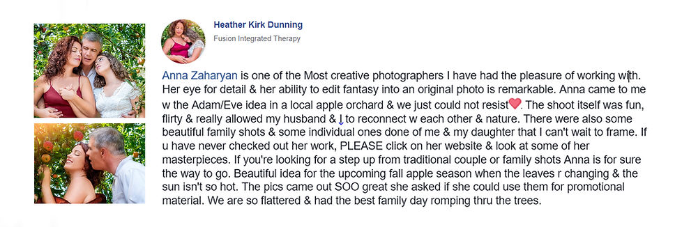 Richmond Family photographer review