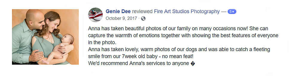 Richmond family photographer Fire Art Studios
