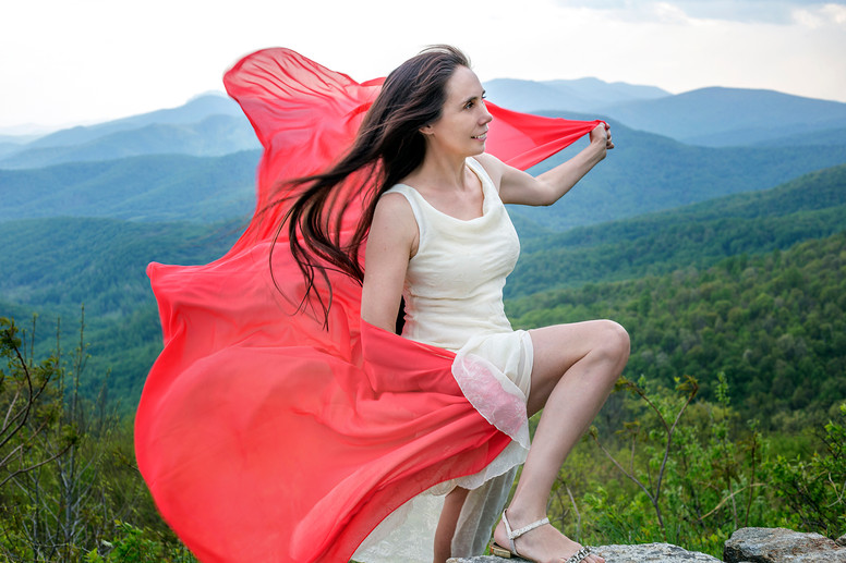 Glamour photography on locations