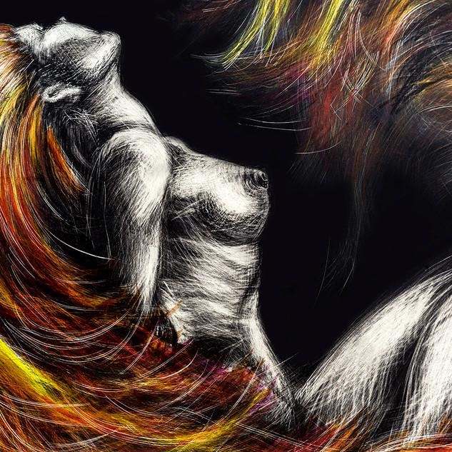 FIRE SPIRITS close up