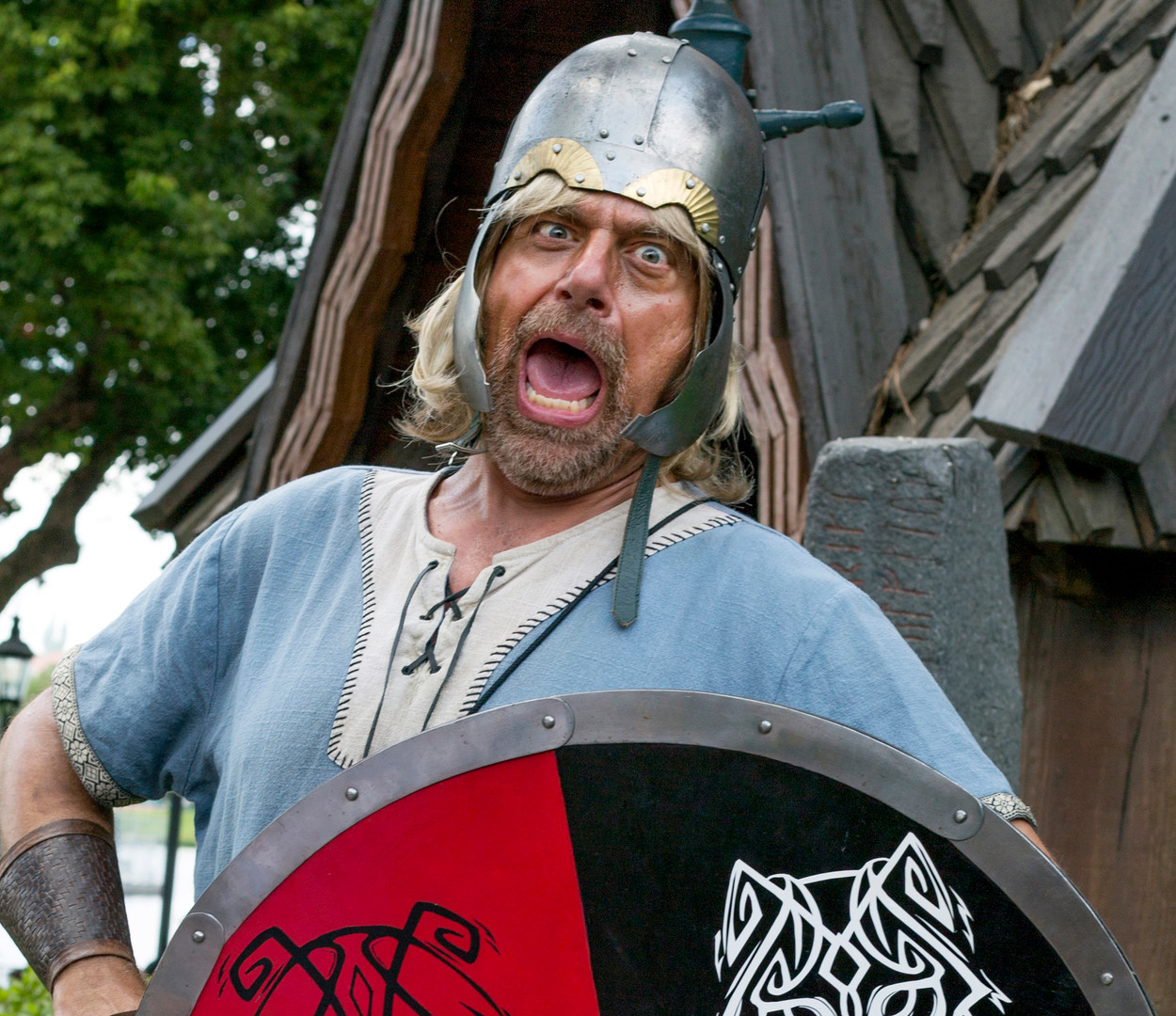 Viking. Performance photography.