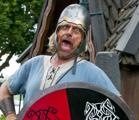 Viking. Performance photography.
