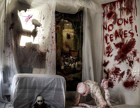 Insane asylum scene. Richmond Mini photo sessions.