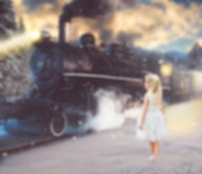 Polar Express fine ar portrait