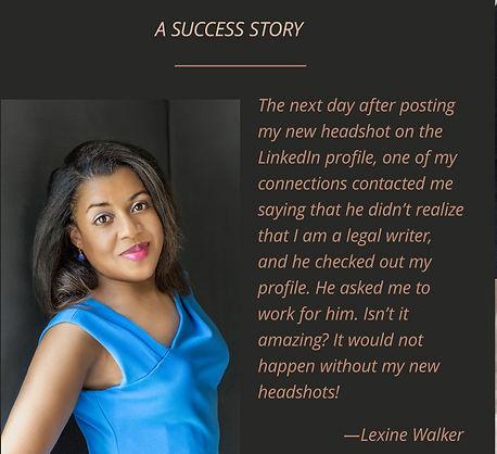 Success story Business Headshots