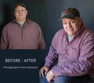 Professional headshots Fire Art Studios Photography