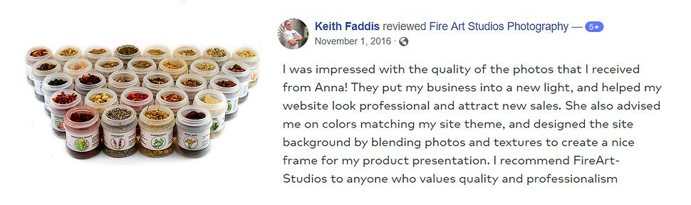 Richmond product photographer review