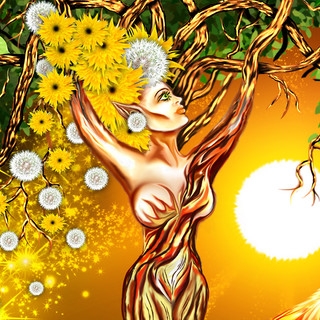 Summer Mother Earth close up