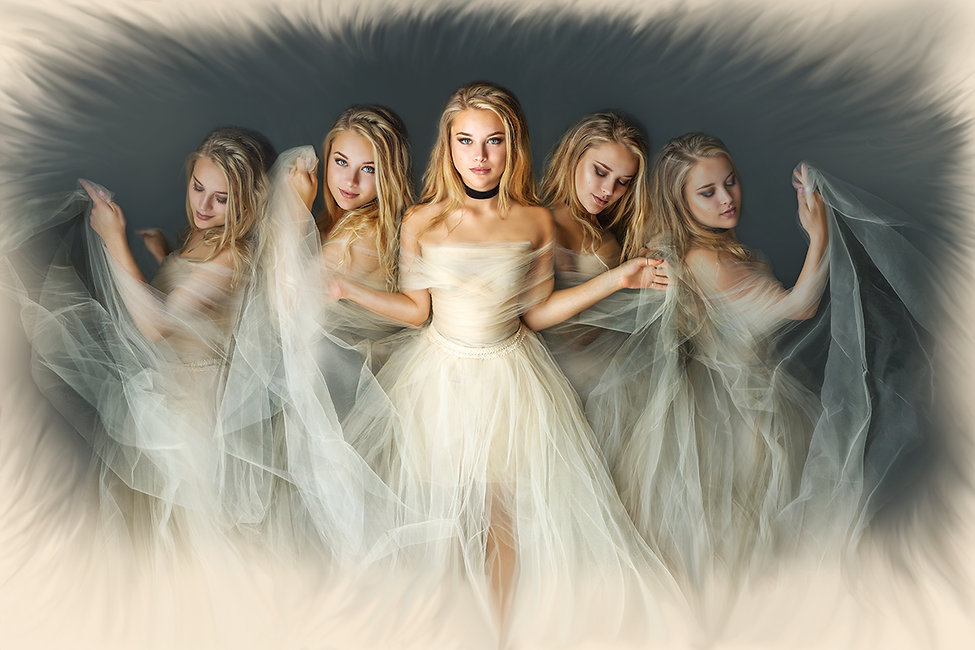 Dancer Fine Art Portrait by Anna Zaharyan