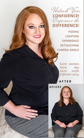 Fire Art Studios Photography before after