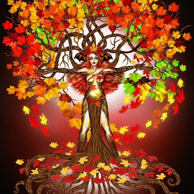 Autumn Mother Earth