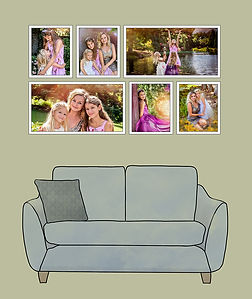 Artistic family portraits. Fire Art Studios Richmond VA