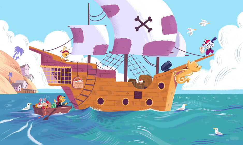 Spread from How to be a children's book illustrator