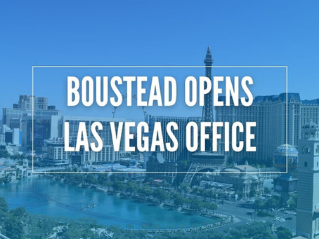 Boustead Opens Las Vegas Office, Welcomes Three New Representatives