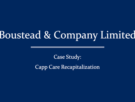 Beech Street, Inc. has recapitalized Capp Care