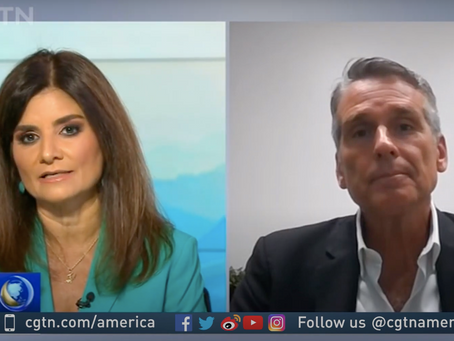Dan McClory Discusses China's Two Sessions On CGTN