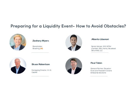 Watch: 'Preparing for a Liquidity Event: How to Avoid Obstacles' with Boustead's Alberto Libanori