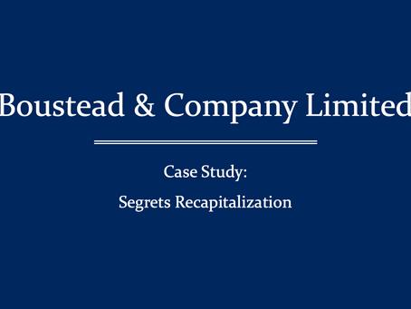 Liz Claiborne, Inc. has capitalized Segrets, Inc.