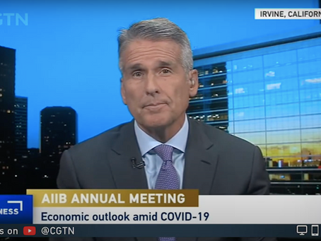 Boustead's Dan McClory Discusses AIIB's Annual Meeting on CGTN