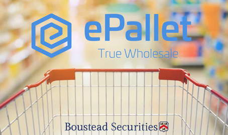 Boustead client, ePallet, addresses food packaging shortage in Bloomberg News