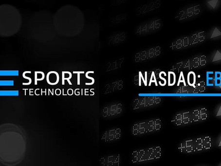 Esports Technologies, Inc. Completes First Day of Trading on the Nasdaq Capital Market