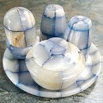Onyx Salt Paper Shaker