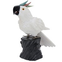 Onyx & Marble Parrot