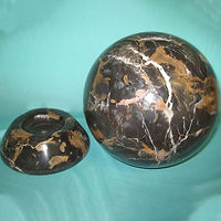 Marble Egg Sphere Base Stand
