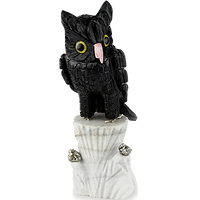 Onyx & Marble Owls
