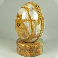 Onyx Egg Sphere Base Stand