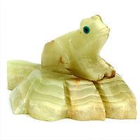 Onyx & Marble Frog