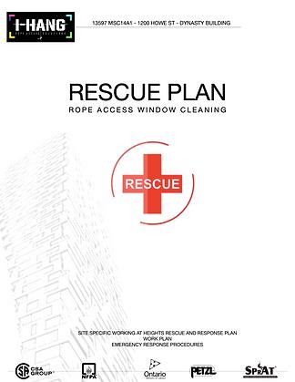 Rescue Emergency Plan