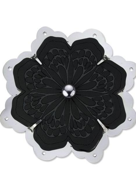 Flowers & Butterflies Steal Brooch