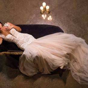 Elegant Wedding Magazine: Berry Bombshell Style Shoot