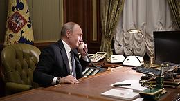 Путин провёл телефонные переговоры с Курцем