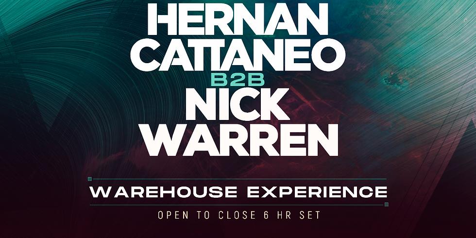 Hernan Cattaneo B2B Nick Warren Warehouse Experience Denver