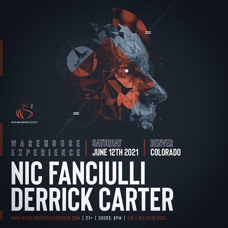 Nic Fanciulli and Derrick Carter Warehouse Experience