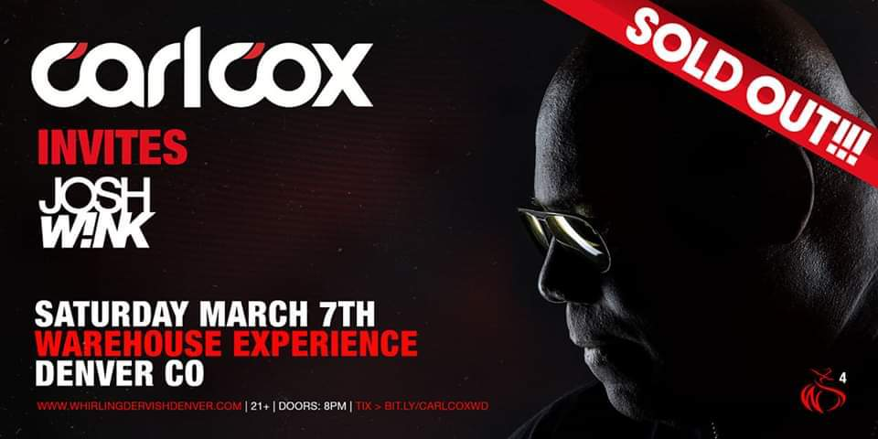 carl cox sold out