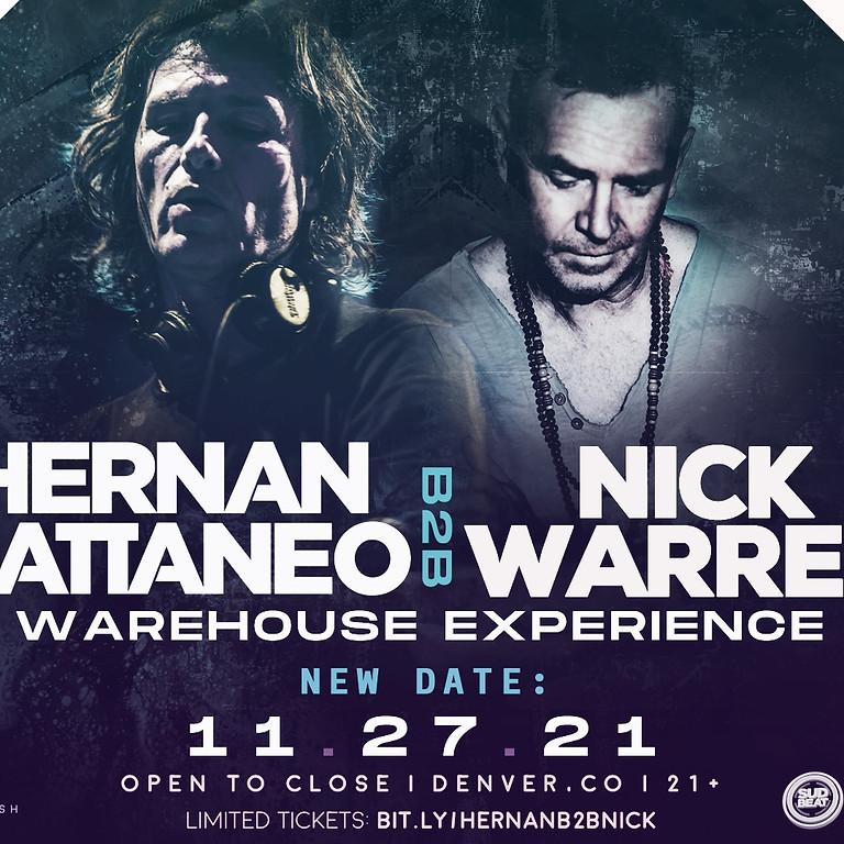 Hernan Cattaneo B2B Nick Warren Warehouse Experience|Denver