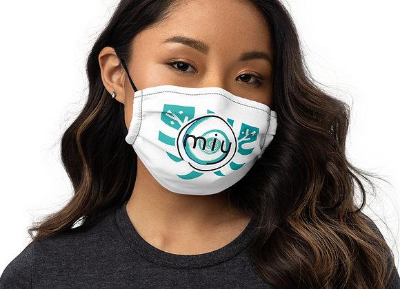 MIY Monstera Logo Premium face mask