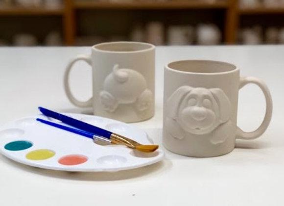 Paint Your Own Mug Take Home Kit