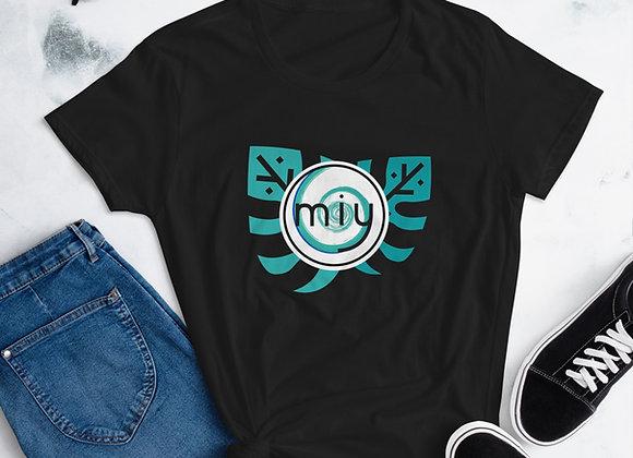 MIY Monstera Logo Women's short sleeve t-shirt