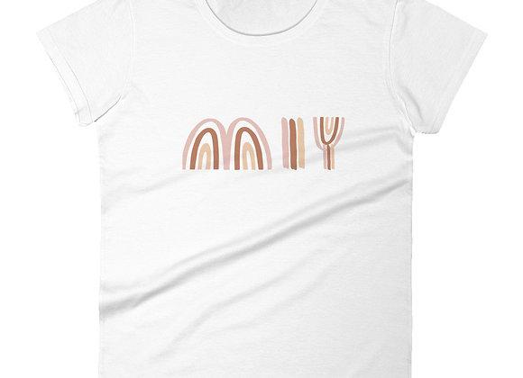 MIY Clay Rainbow Women's short sleeve t-shirt
