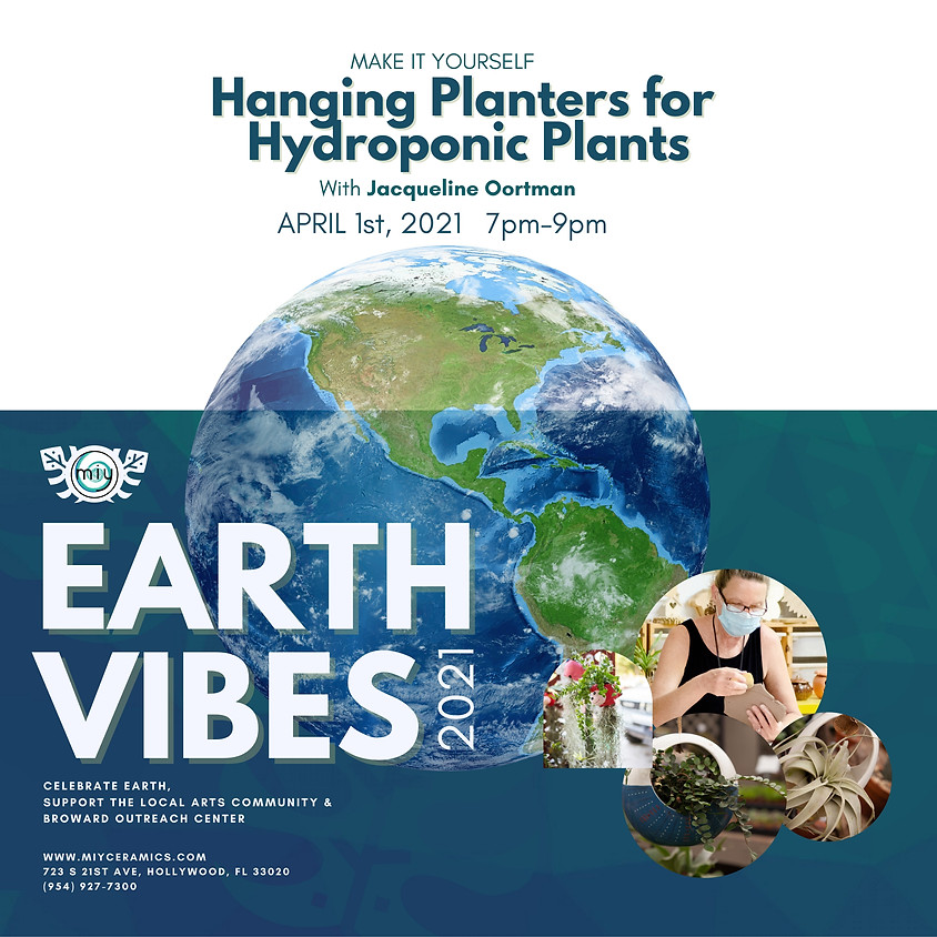 Earth Vibes / Hanging Planters for Hydroponic Plants