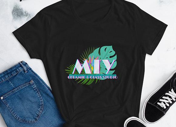 MIY VICE tropical Women's short sleeve t-shirt