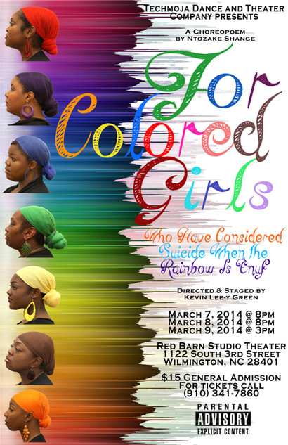 For Colored Girls Who Have Considered Suicide When the Rainbow Is Enuf 2014